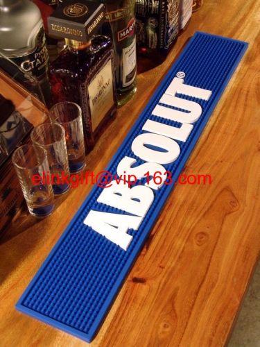 6P free promotional custom rubber bar mat moulded bar runner