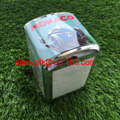 customized printing metal napkin box napkin holder napkin dispenser