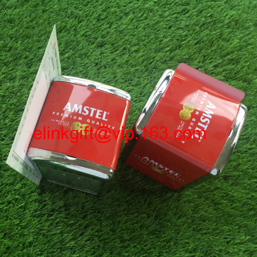 standard tin napkin holder with side menu holder tissue box