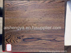 Wooden plate with natural grain design Furniture and decoration material and construction Wooden door and cabinet