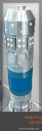 Soluble bridge plug is for well completion and fracturing operation