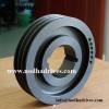 V belt drive pulley grooved V belt sheave