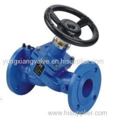 9201 FIXED ORIFICE DOUBLE REGULATING VALVE
