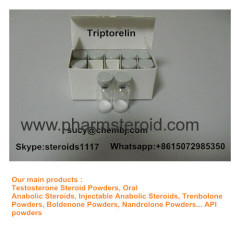 Human Growth Peptides Triptorelin CAS 57773-63-4 As The Acetate Or Pamoate Salts