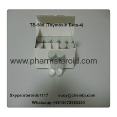 Human Growth Peptides TB-500 Thymosin Beta-4 CAS:77591-33-4 Stimulate Muscle Gain