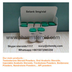 99% Anxiolytic Peptide Based drug Selank 5mg/vial For Stress reduction
