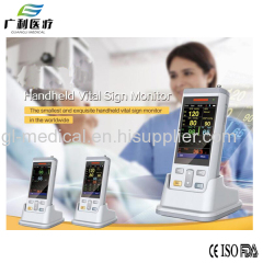 Handheld vital sign monitor