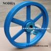 Aluminum belt pulley cooling tower pulley