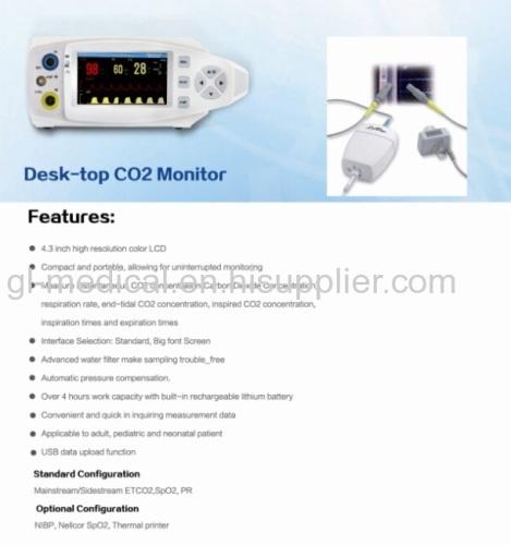Portable table  pulse oximeter