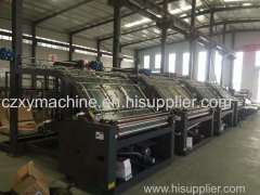 Fully Automatic Flute Laminator Machine for corrugated carton box making