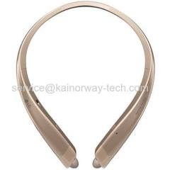 LG TONE Platinum HBS-1100 Wireless Behind-The-Neck Mount Bluetooth Stereo Headset Gold