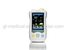 Portable finger pulse oximeter