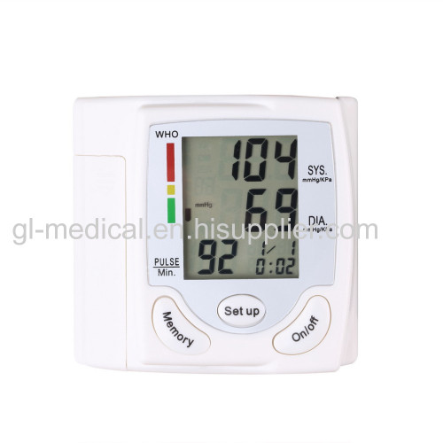 Homecare device blood pressure monitor for elderly