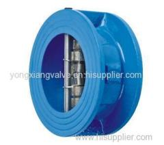 4203 WAFER TYPE DOUBLE DOOR CHECK VALVE