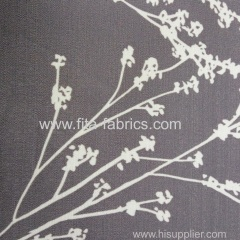100%polyester chenille printing curtain