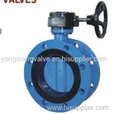 7204 DOUBLE FLANGED BUTTERFLY VALVES