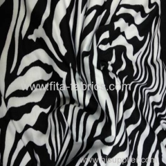 Polyester ITY knit printed Fabric