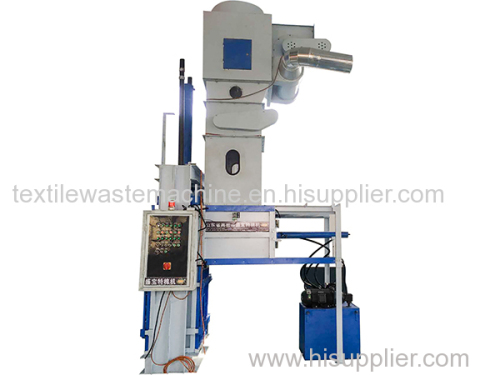 Automatic hydraulic cotton baler for raw cotton