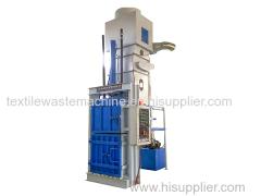 Automatic hydraulic raw cotton baling machine
