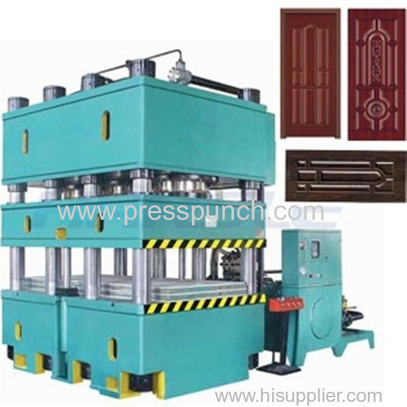 2500Ton door embossing machine exported to South america