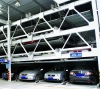 Four layer automated mechanical parking system