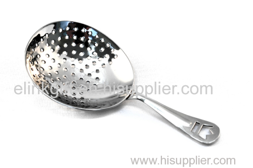 SEDEX factory supply cheap price professional bar tool julep cocktail strainer stainless steel