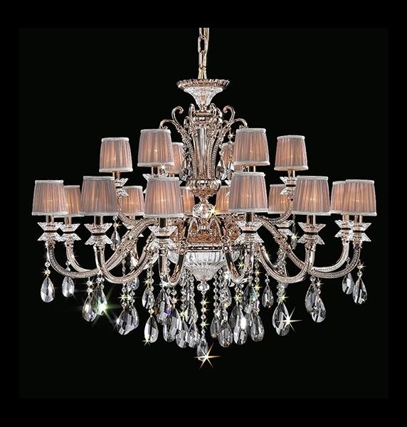 Mordern design+Luxur Larger Crystal indoor ceramics lighting