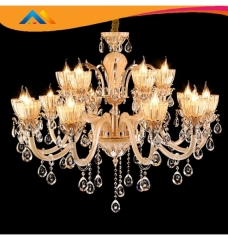 Candle crystal indoor chandelier lighting