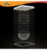 Square Crystal Indoor Ceiling Lighting