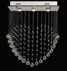 Loving Heart K9 Crystal Indoor Ceiling Lighting