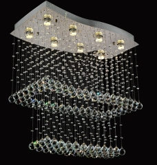 Toast K9 Crystal Indoor Ceiling Lighting