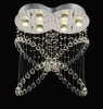 Butterfly K9 Crystal Indoor Ceiling Lighting