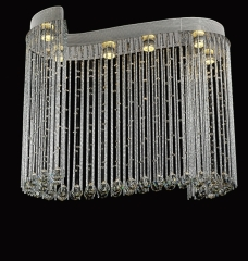 Harp K9 Crystal Indoor Ceiling Lighting