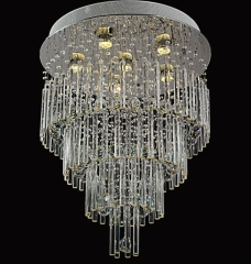Fountain K9 Crystal Indoor Ceiling Lighting