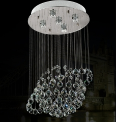 Planet K9 Crystal Indoor Ceiling Lighting