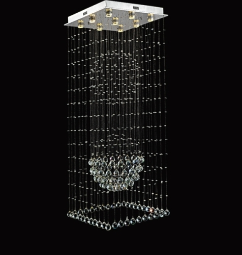 Double Bubble K9 Crystal Indoor Ceiling Lighting