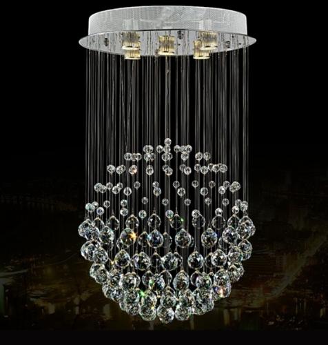 Bubble K9 Crystal Indoor Ceiling Lighting