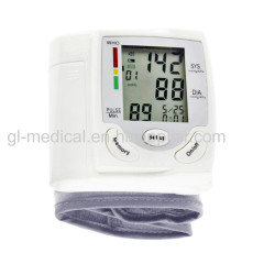 Digital watch blood pressure monitor