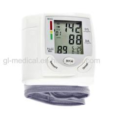 Wrist type blood pressure monitor for elderly