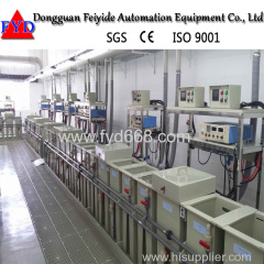 Feiyide Customized Gold Nickel Plating Line for Jewellery Coating Production