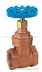 THREADED BRONZE GATE VALVE