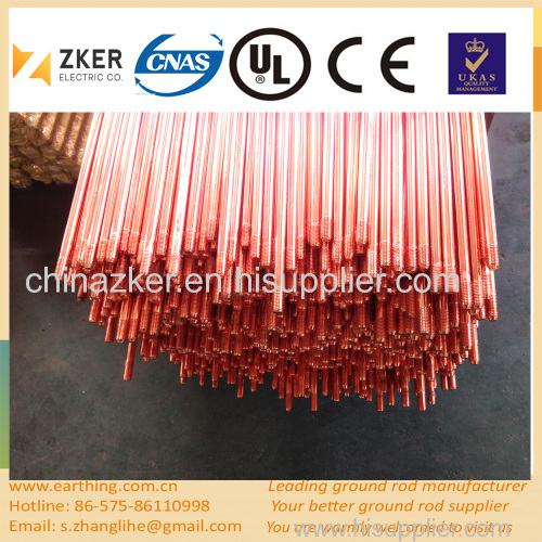 copper coated steel extensible grouding rod