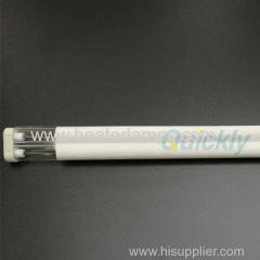 Lámpara de cuarzo infrarrojo de media onda 1000w