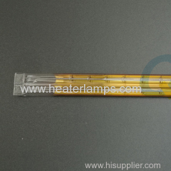 quartz tube infrared heater for printing machine