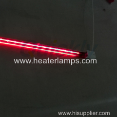 quartz tube infrared ruby lamps 1200w