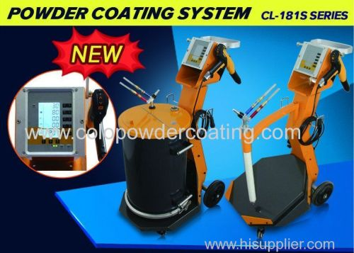 Electrostatic powder coating sprayg gun