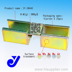 roller track metal joint|Anti-rust slide joint|roller track connecter