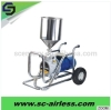 Hot sale 3kw electric diaphragm pump airless paint sprayer