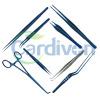 Cardiovascular Thoracic Plastic Surgical Instruments (Forceps)