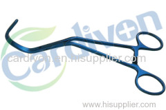 CARDIVON Surgical Vascular Thoracic Instruments-DeBakey Aortic Clamp